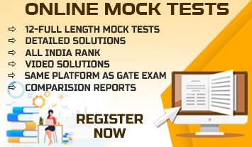 GATE-2021 FULL LENGTH MOCK TESTS