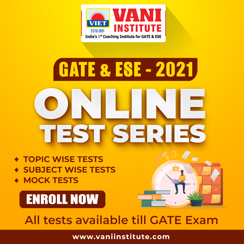 GATE-2021 ONLINE TEST SERIES